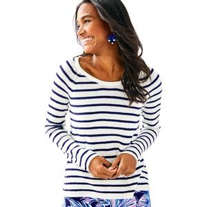 Lilly Pulitzer Petrina Striped Cotton Sweater XXS